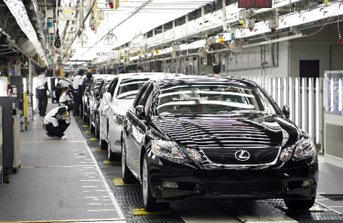 Toyota To Spend $1b on North American Factory