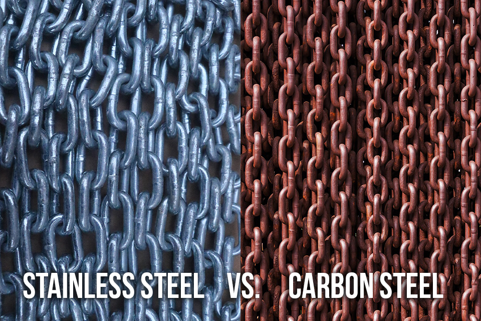 What Is Stainless Steel Made Of >> What S The Difference Between Stainless Steel And Carbon