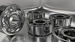 Corrosion resistant Chrome bearings