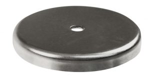 Image of round magnet with hole.
