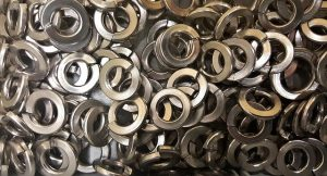 An assortment of washers