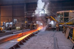 Steel making foundry