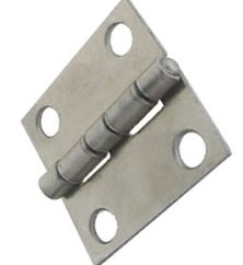 5 Common Materials in Which Hinges Are Made