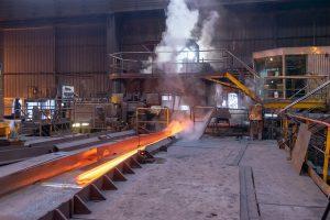 Steelmaking factory