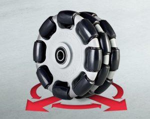 Omni wheel by Monroe Engineering