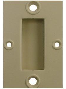 Recessed pull handle by Monroe Engineering